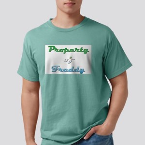 Property Of Freddy Male Mens Comfort Colors Shirt