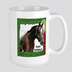 Appy Holidays Large Mug holly