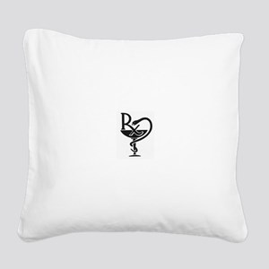 Pharmacist Square Canvas Pillow