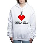 I heart bulking Women's Hooded Sweatshirt