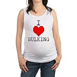I heart bulking Maternity Tank Top