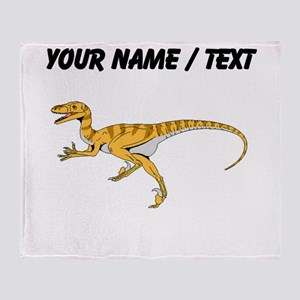 Velociraptor (Custom) Throw Blanket