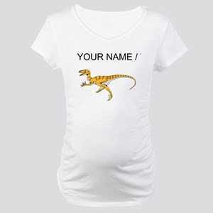 Velociraptor (Custom) Maternity T-Shirt