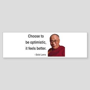 Dalai Lama 6 Bumper Sticker