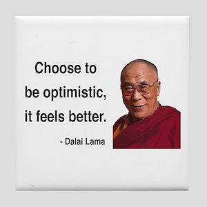 Dalai Lama 6 Tile Coaster