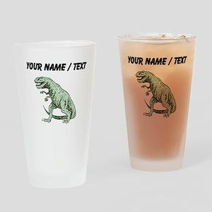 Tyrannosaurus Rex (Custom) Drinking Glass