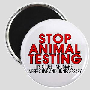 Stop animal testing - Magnet