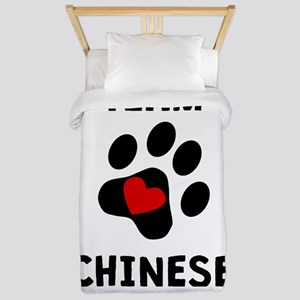 Team Chinese Crested Twin Duvet