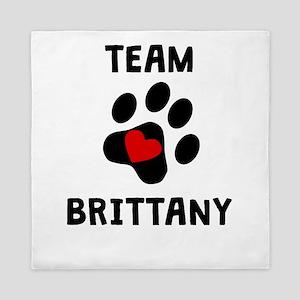 Team Brittany Queen Duvet