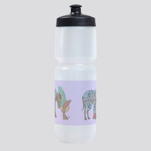 Top Hat and Tails Sports Bottle
