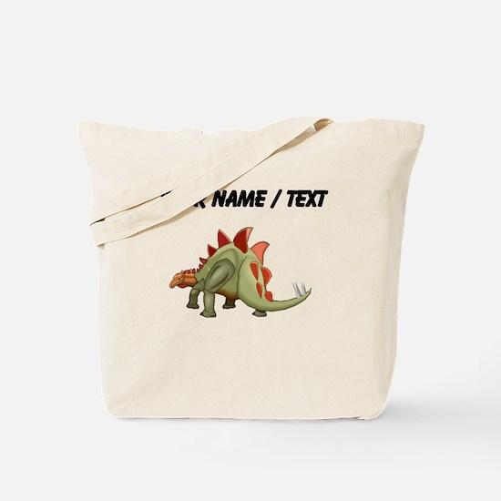 Stegosaurus (Custom) Tote Bag