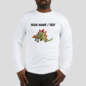 Stegosaurus (Custom) Long Sleeve T-Shirt