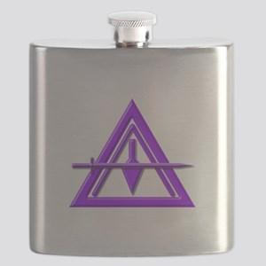 York Rite Council Flask