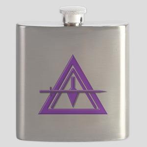 York Rite Council Flask