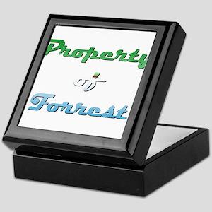 Property Of Forrest Male Keepsake Box