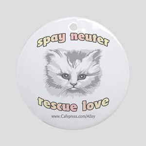 Cat (SNRL) Ornament (Round)