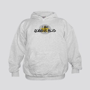 I am Queens Blvd 2 - Gold Kids Hoodie