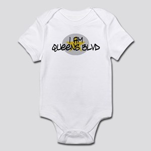 I am Queens Blvd 2 - Gold Infant Bodysuit