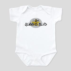 I am Queens Blvd 2 - Gold Infant Bodysuit