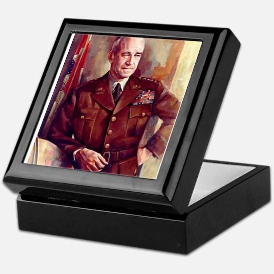 omar bradley Keepsake Box