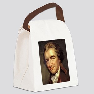 thomas paine Canvas Lunch Bag