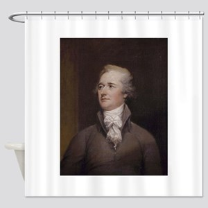 alexander hamilton Shower Curtain