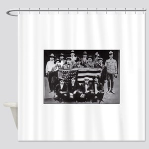 code talkers Shower Curtain