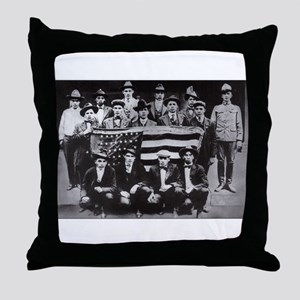 code talkers Throw Pillow