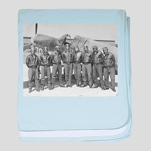 tuskegee airmen baby blanket