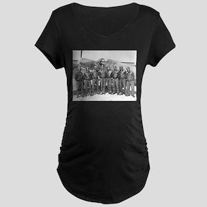 tuskegee airmen Maternity T-Shirt