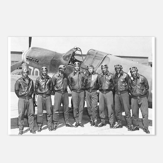tuskegee airmen Postcards (Package of 8)