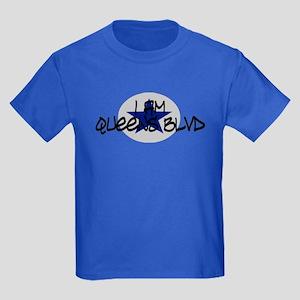 I am Queens Blvd 2 - Blue Kids Dark T-Shirt