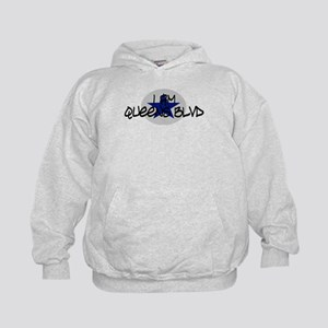 I am Queens Blvd 2 - Blue Kids Hoodie