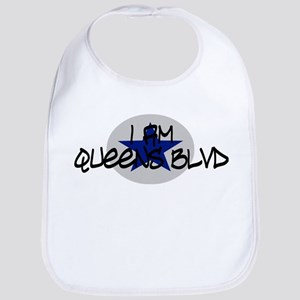 I am Queens Blvd 2 - Blue Bib