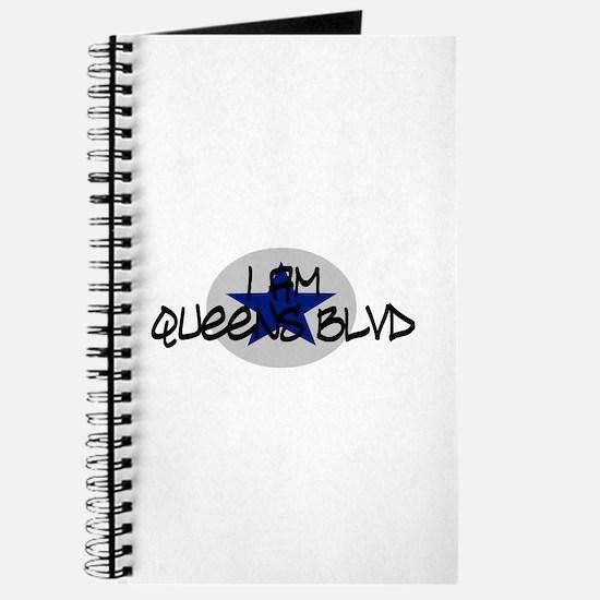 I am Queens Blvd 2 - Blue Journal