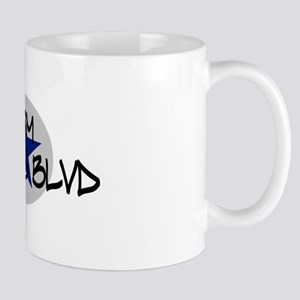 I am Queens Blvd 2 - Blue Mug