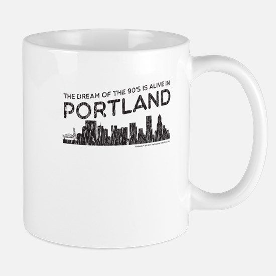 The Dream of the 90s is alive in Portland Mugs