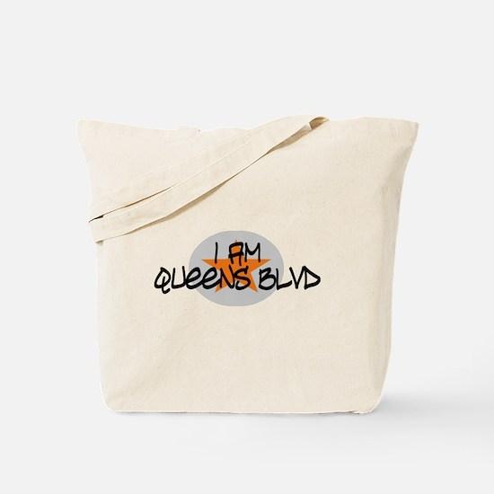 I am Queens Blvd 2 - Orange Tote Bag