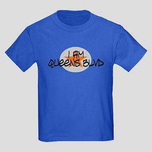 I am Queens Blvd 2 - Orange Kids Dark T-Shirt