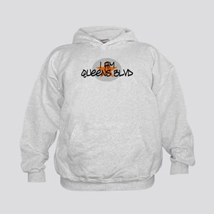 I am Queens Blvd 2 - Orange Kids Hoodie