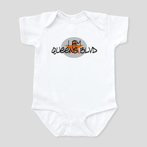 I am Queens Blvd 2 - Orange Infant Bodysuit