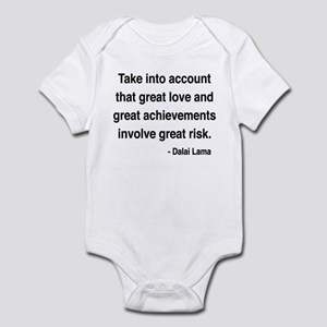 Dalai Lama Text 7 Infant Bodysuit