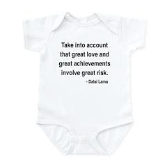 Dalai Lama Text 7 Infant Bodysuit