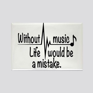 Life without music Magnets