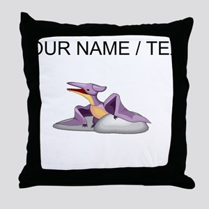Pteranodon (Custom) Throw Pillow