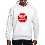 Stop Illegal Immigration Hooded Sweatshirt