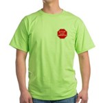 Stop Illegal Immigration Green T-Shirt