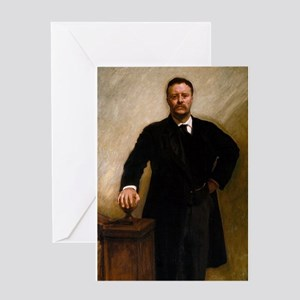 theodore roosevelt Greeting Cards