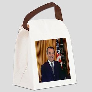 ricjard nixon Canvas Lunch Bag
