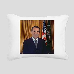 ricjard nixon Rectangular Canvas Pillow